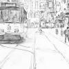 draft, tram